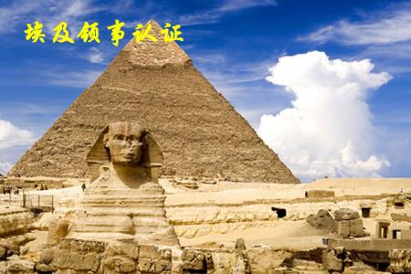 埃及领事认证